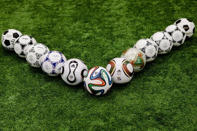 Historia y evolución de los balones de fútbol.