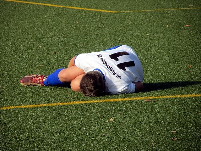Lesiones más comunes en el fútbol