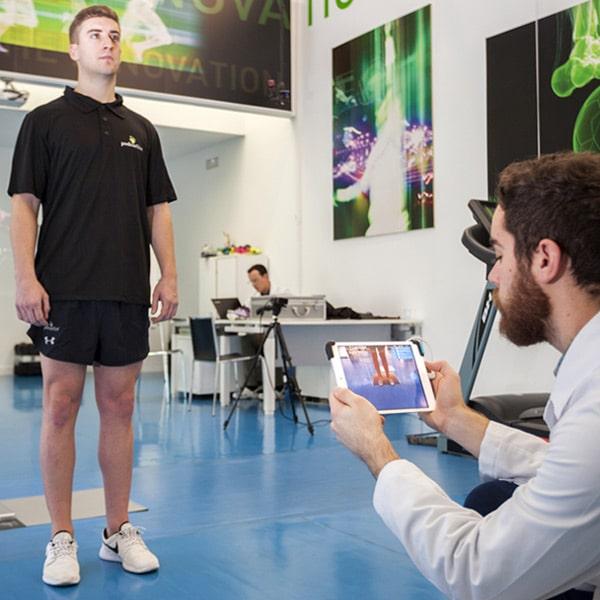 escaneo piernas espinilleras 3d a medida
