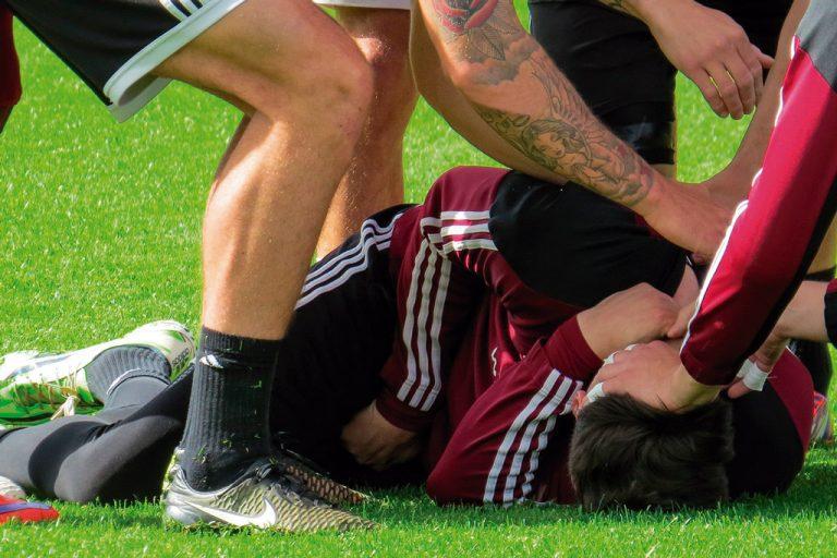 Las lesiones más comunes en el fútbol